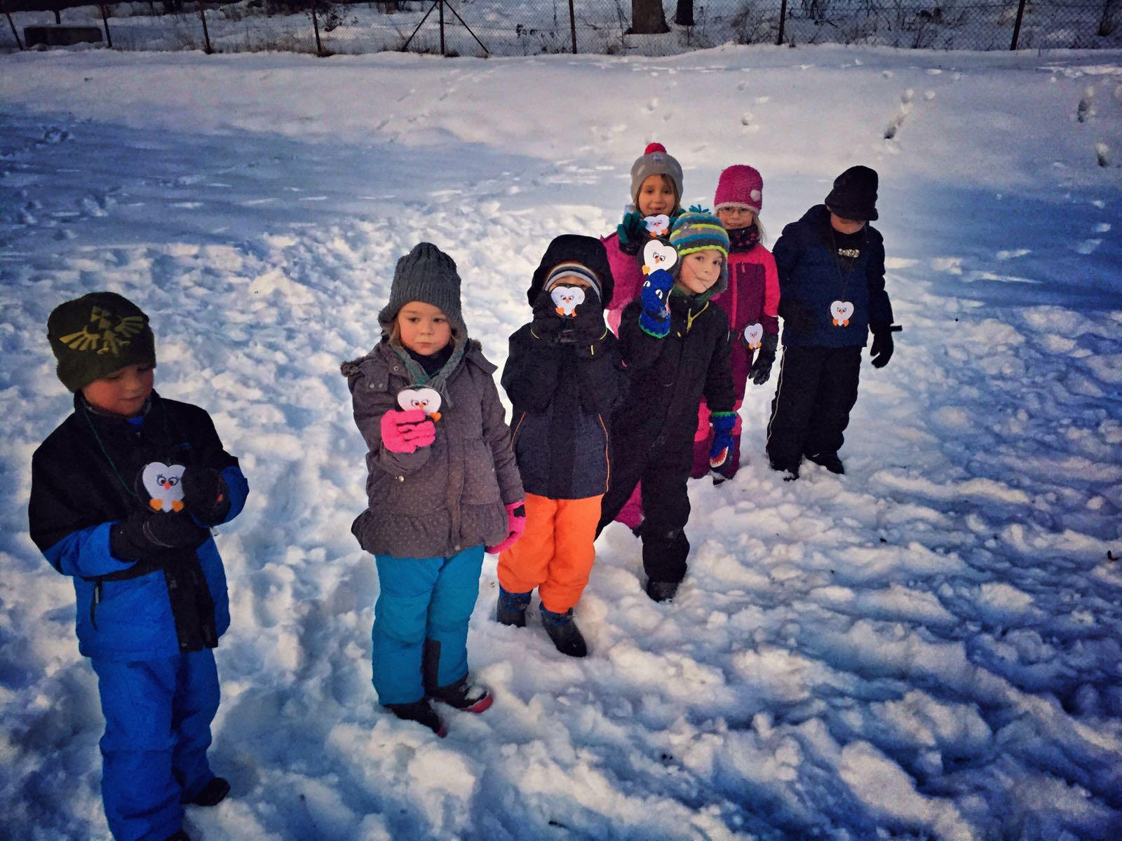 """1. Wintersportfest der """"Minis"""""""