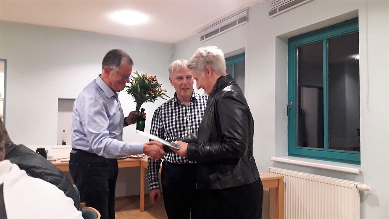 Vereinsvorsitzende vom Thüringer Leichtathletik Verband e. V. geehrt