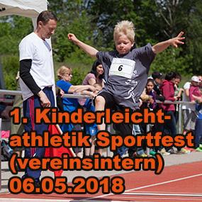 Kinderleichtathletik Sportfest (vereinsintern) 2018