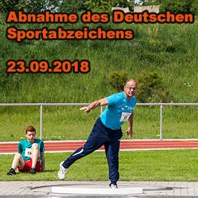 Abnahme des Deutschen Sportabzeichens
