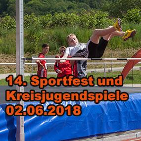 14. Sportfest der Sonneberger Leichtathleten 2018 und Kreisjugendspiele KFA Südthüringen